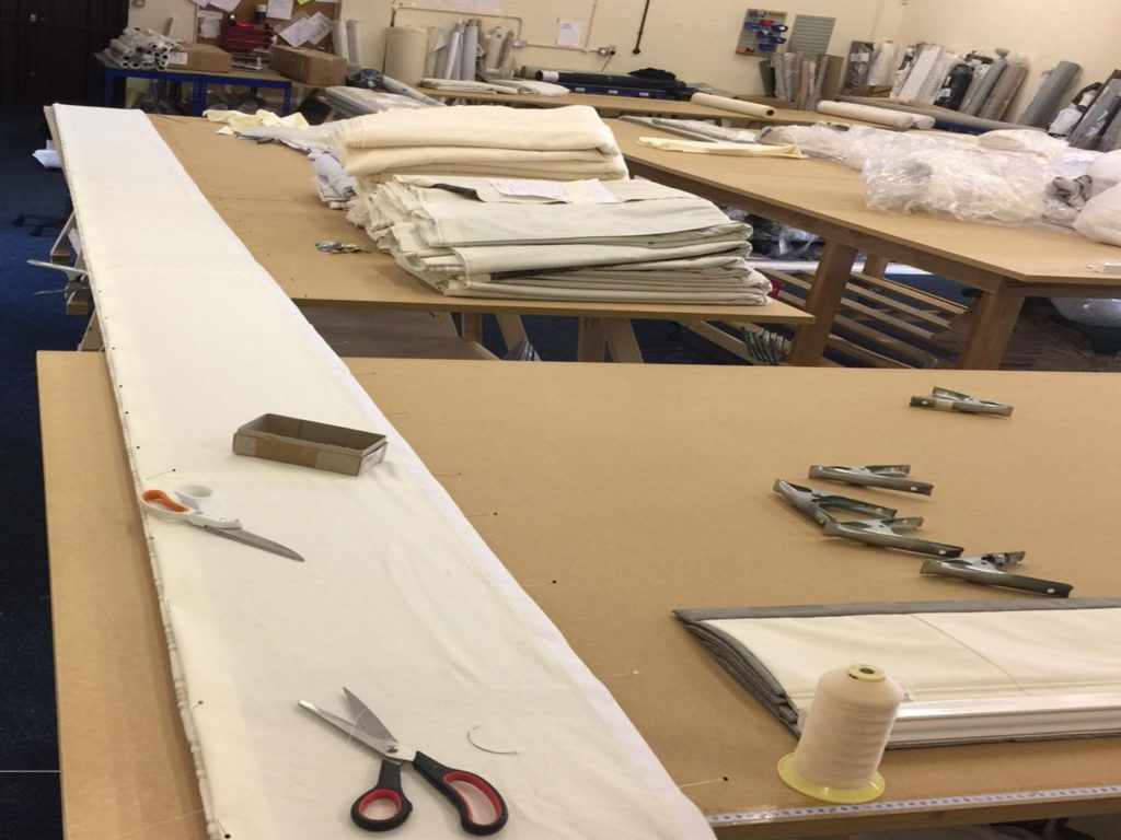 Our curtain-making process at Distinctive Makers